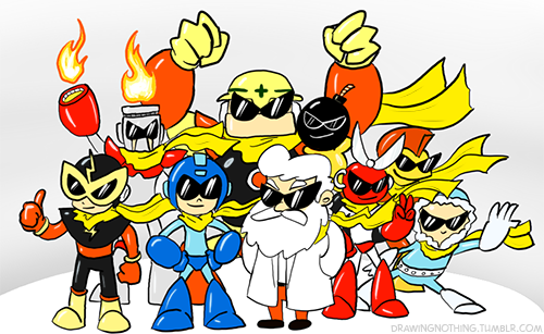Everyone wants to be as cool as Protoman.