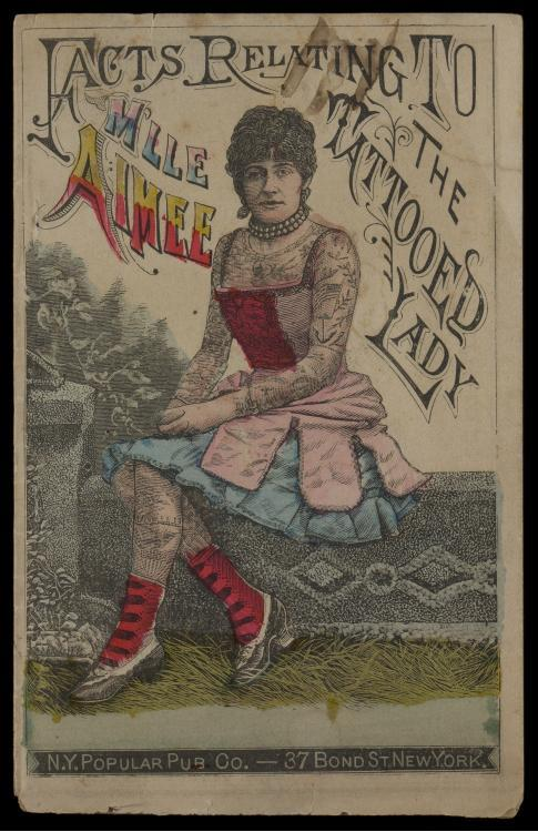 Tattooed Lady, 1880