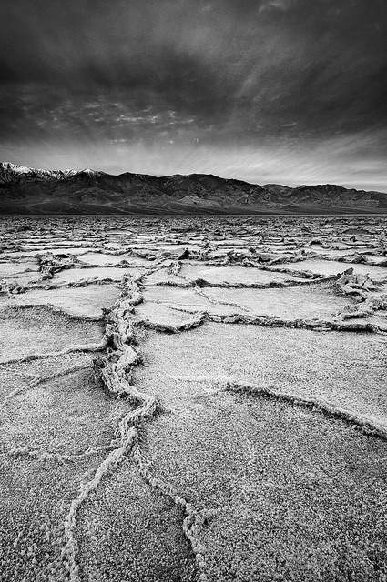 Serpentine Salt - Badwater Basin, Death Valley National Park, California by Jim Patterson Photography on Flickr.
