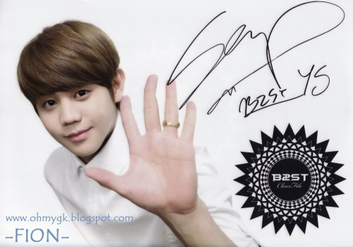 BEAST's official clear files 2011  (YO SEOP) Please take out my photos  with full credit + http://www.ohmygk.blogspot.com/ do not cut logo !!!!
