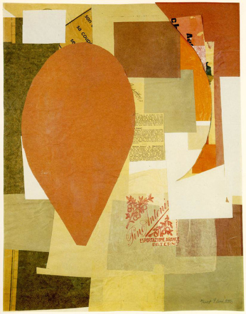 azurebumble:  Kurt Schwitters : Collage