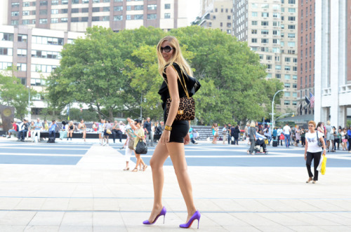 pedalfar:  The Blonde Salad - My outfit for day 4 of New York MBFW