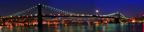Brooklyn full harvest moon by weisserphotography.com