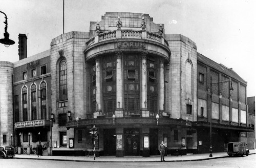 The Forum Movie Theatre, Fulham, England, via archimaps