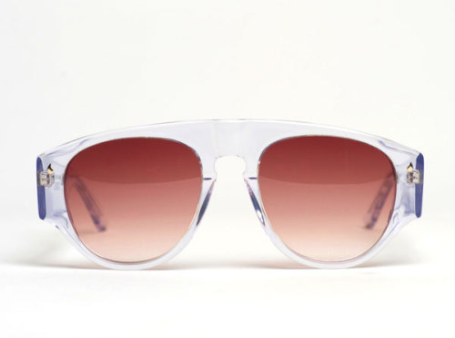The Hesse by Contego I saw a model wearing these shades yesterday and am dying to pick up a pair. Bonus points to Contego for naming this style after the great Hermann Hesse.