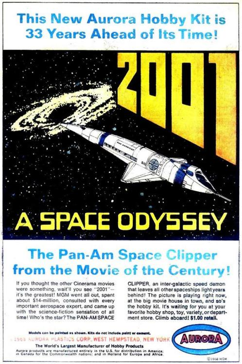 comicallyvintage:  The Pan-Am Space Clipper From The Movie Of The Century!