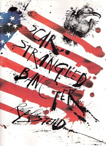 "spitandsoot:  found this book ""Scar Strangled Banger"" by Ralph Steadman at half price books the other day for ten bucks it was originally 30… filled with awesome illustrations belittling the united states government specifically the Richard Nixon era."