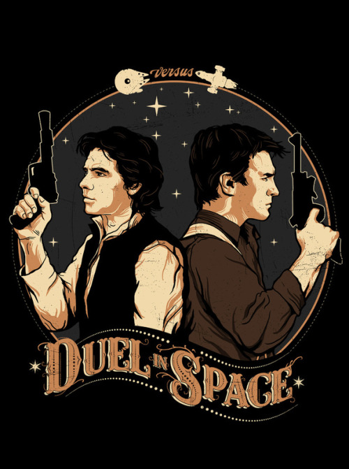Duel in Space by Zerobriant
