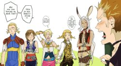 franbunansa:  lol XD Come on balthier! It's not that bad!  :D