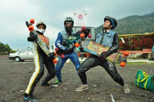 Daniel Figueroa, Punk Rocker, Daniel Favela Rocking Ajusco on their boards
