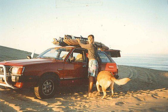 aridderb:  Bradley Nowell of Sublime going surfin'