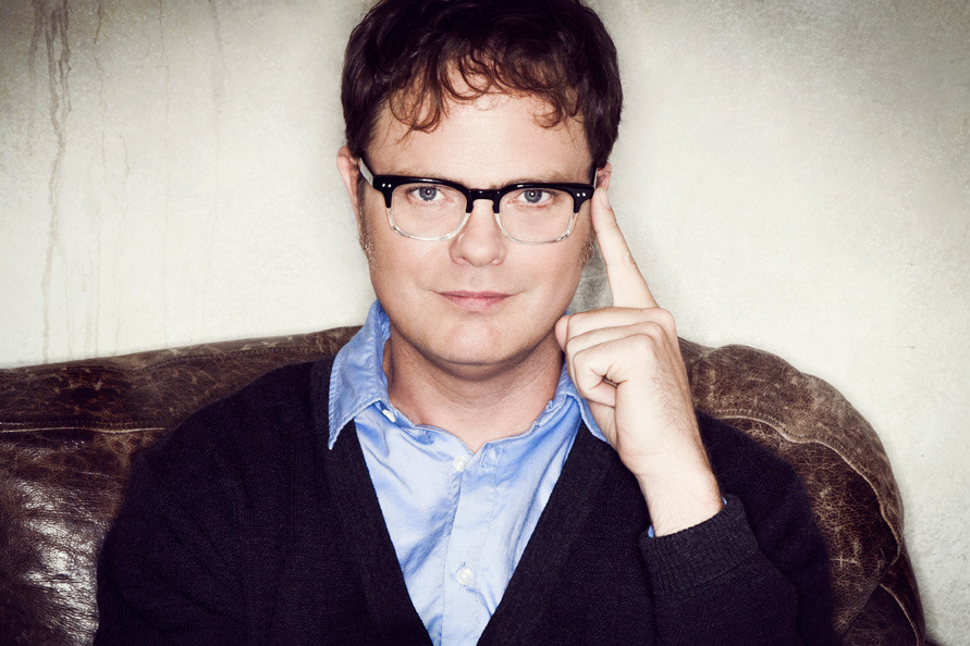 PBS Announces 9 Part Arts Festival, photo of Rainn Wilson by Robyn Von Swank.