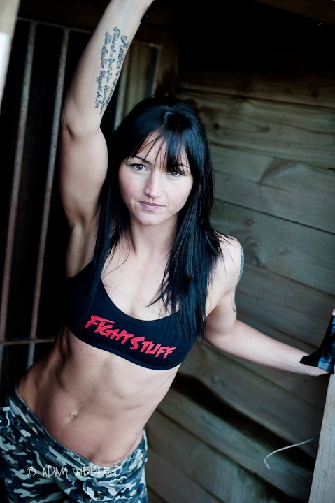 "c-s-w:  Featured Fighter - Julie Kitchen Julie Kitchen is not only the mother of two daughters she is also the No. 1 ranked womens Muay Thai champion of the world. Nick named ""The Queen of Muay Thai"" Julie Kitchen holds 13 world titles. Her current professional record is 44 wins 8 losses. Julie is an ambassador for the sport and inspiration to women and men of all ages world wide.  Fit."