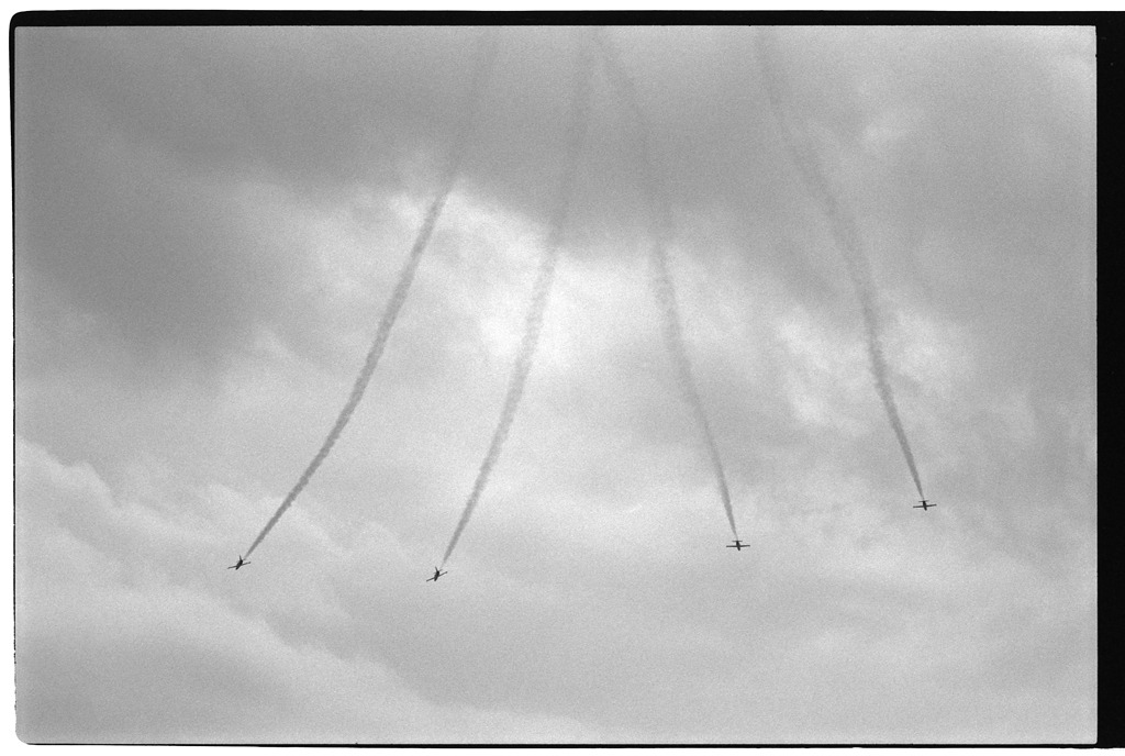 Lockheed T-33's at The Canadian International Airshow
