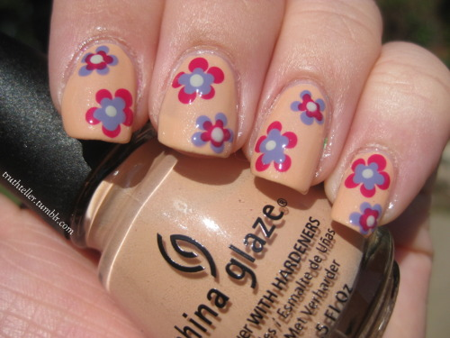 truthteller:  china glaze - sunset sail china glaze - designer satin opi - planks a lot opi - skull & glossbones