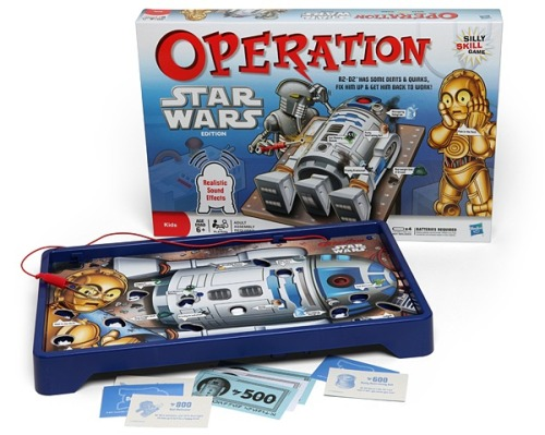 laughingsquid:  Help Fix R2-D2 In Star Wars Themed Version of Operation Game