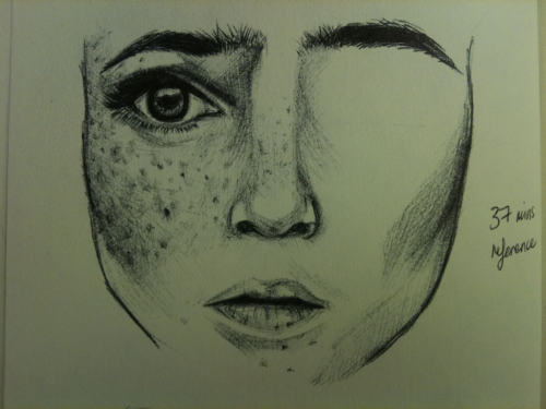 'Freckles' - 37 minute reference sketch