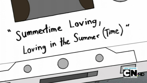"hominem-unius-libri-timeo:  ""Summertime Loving. Lovin' in the summer… time?"""