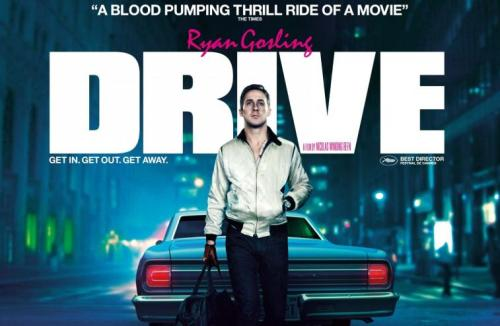 "Drive (Dir. Nicolas Winding Refn) ""When I read this script, the character seemed to me somebody who had seen too many movies and had become the star of his own action film, so that's how I thought about it.  Los Angeles is a fairy tale place, built on fantasy, so we made it a fairy tale land. We tried to make the Driver a knight and Irene [Carey Mulligan] this princess in the tower who needed to be rescued, Bernie Rose [Albert Brooks] was the evil wizard and Ron Perlman was the dragon.  We treated it like a Brothers Grimm fairy tale. Nicholas seems to think that it fits into neo-noir.  It was a great script, Hoss [Amini] had written a really great script, but it was so authentic to Los Angeles and gang culture and you would have to make a Ken Loach style film in order to honor that script– what we wanted to make was a violent John Hughes movie that was a fairy tale about a guy who drives around listening to music at night because that's the only way he can feel anything.  And a guy who's seen so many movies that he turned himself into his own super hero and made his own superhero costume [he pauses, miming the Scorpion jacket Driver wears], so that's what excited us and Hoss helped us to realize that.   We made this film for the audience, and we made it for the theatre. I wanted this movie to be a film that you wanted to be in the movie theatre to see, not one that you wanted to watch at home.  There are those movies [that you watch at home] but there are those films as well that you're just glad that you're in the theatre to see them.  For instance when I first saw Valhalla Rising, Nic's movie, halfway through the movie, a character cuts open his friend and pulls out his guts and starts showing them to him and [the audience] lost their minds! They were hitting each other getting up laughing screaming it just evoked a real hodgepodge of emotions and I guarantee you everybody in that theatre—whether they liked it or not—were glad that they saw it in the theatre, so my hope is that what we made—we made [Drive] to be played loud, we made it for the big screen and hopefully people will appreciate that."" - Ryan Gosling"