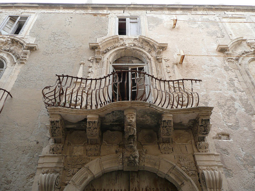 ysvoice:  | ♕ |  Baroque Balcony - Syracuse, Sicily  |  by Scott Weir
