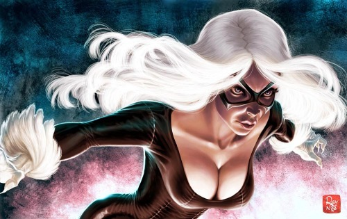 xombiedirge:  Black Cat by Mathieu Reynès