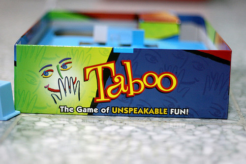 You know what's a bajillion times more fun that Taboo? Drunk Taboo!