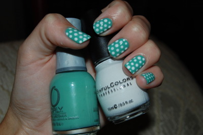 Mint&Dots Orly - Ancient Jade Sinful Colors - Snow Me White