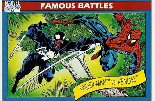 fuckyeahcomicnostalgia:  Spider-Man vs. Venom (Greatest Battles)  -