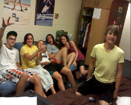 these lovely people in my room right now <3