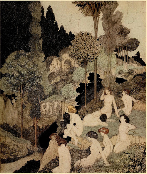 dientes-de-leche:  Autumn Interlude by Charles Robinson Source