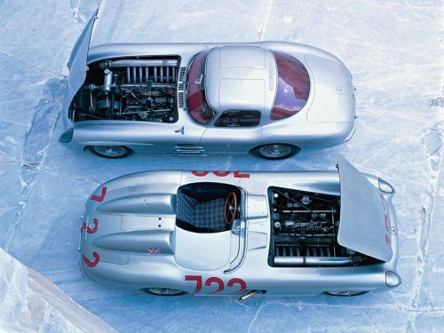 coolerthanbefore:  1955 Mercedes-Benz 300 SLR Uhlenhaut Coupe