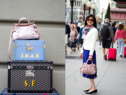 miu miu on top of goyard (by Meisha Style)