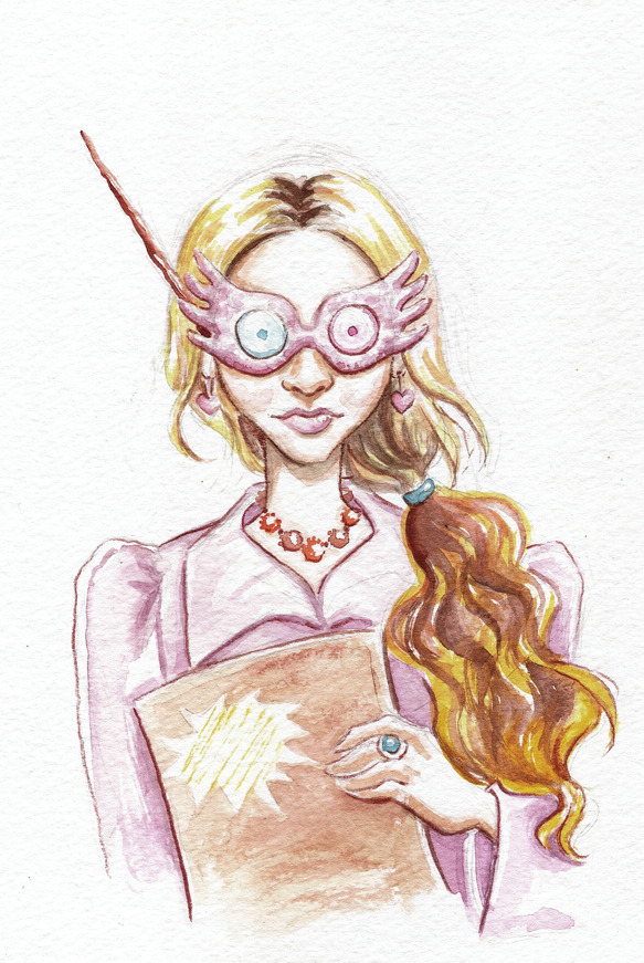 """Luna"" by Terry Blas It's Harry Potter week on Sketchery!  Follow us on twitter..."