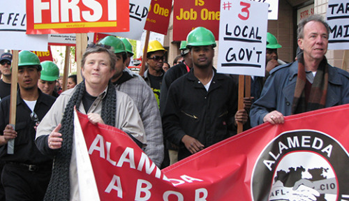 "sscd:  leftliberty:  Congressional Progressive Caucus Presents Jobs Plan Following up on speak outs it organized around the country during the summer  the Congressional  Progressive Caucus Sept. 13 unveiled a far-reaching Rebuild the American  Dream Framework, focusing on six areas for immediate and long-term job creation. Calling the jobs proposal President Obama  presented to the country last week ""comprehensive,"" and ""a wonderful  first step,"" CPC co-chair Rep. Raul Grijalva, D-Ariz., told a Washington  DC press conference, ""We'd like to make it bigger.""Rep. Barbara Lee,  D-Calif., told reporters,""It was so important to get out of Washington  DC, and to participate with people, to listen to the stories so many  people have told us, and to bring back their ideas and their thoughts  about what we need to do next."" The CPC's Framework focuses on six areas:  Make it in America Again: Develop a national plan for manufacturing, to reopen U.S. factories.   Rebuild America: A national investment bank to rebuild roads,  bridges, locks and dams, connect and empower the country with fiber  optic cable. Jobs for the Next Generation: Make ""the guarantee of a good American  job real for every young person,"" through ""direct employment in the  public sector and incentives for hiring in the non-profit sector and  private sector."" Provide stipends to workers and youth in job training  programs. Read more  Now it's our time to make sure it gets passed! Call! Write letters! Hold rallies and speeches! Let people know that there is a plan to help the working class. DEMAND THE GOVERNMENT SERVE YOU"