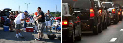 Wisconsin Tailgating vs. New York Tailgating