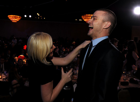 Amy Poehler and Justin Timberlake