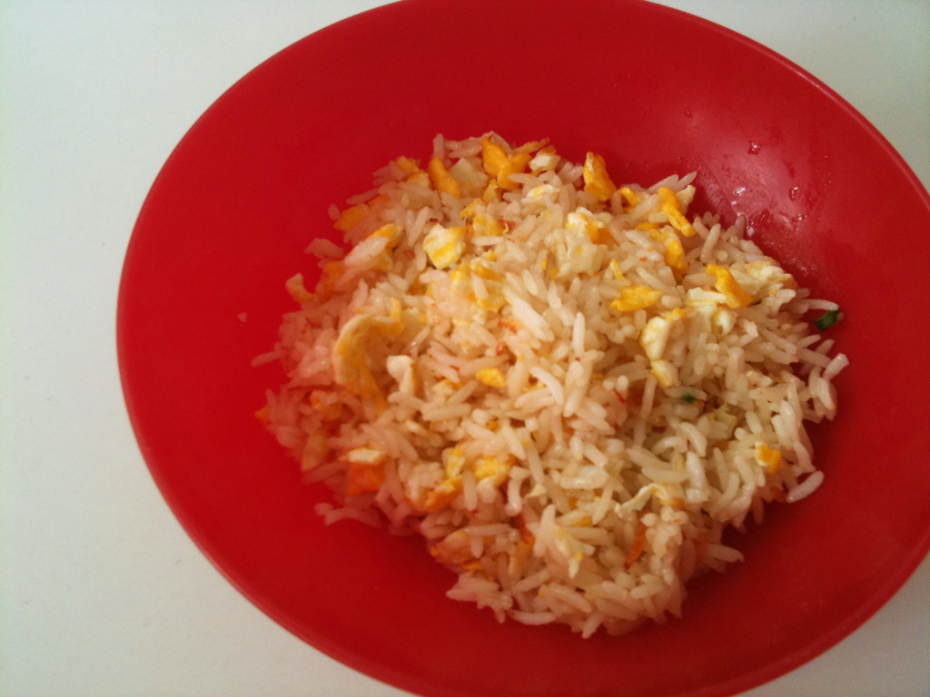 rice pilaf with ebi