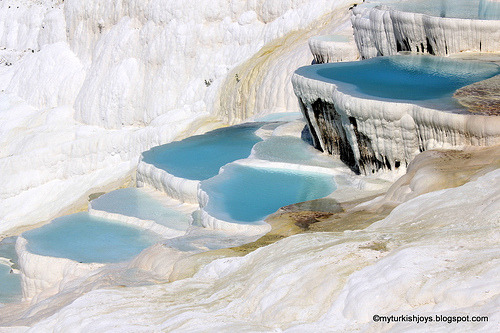 Pamukkale Travertines2 (by myturkishjoys) One of Turkey's natural wonders. Read more.