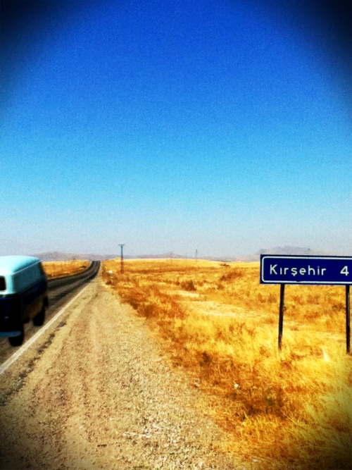 Driving thru gold… #turkey