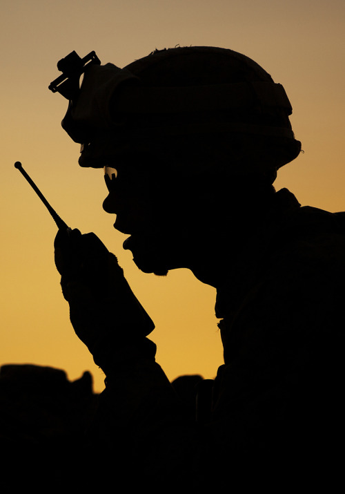 militaryheroes:  Official U.S. Marine Corps photo by Cpl. Reece Lodder