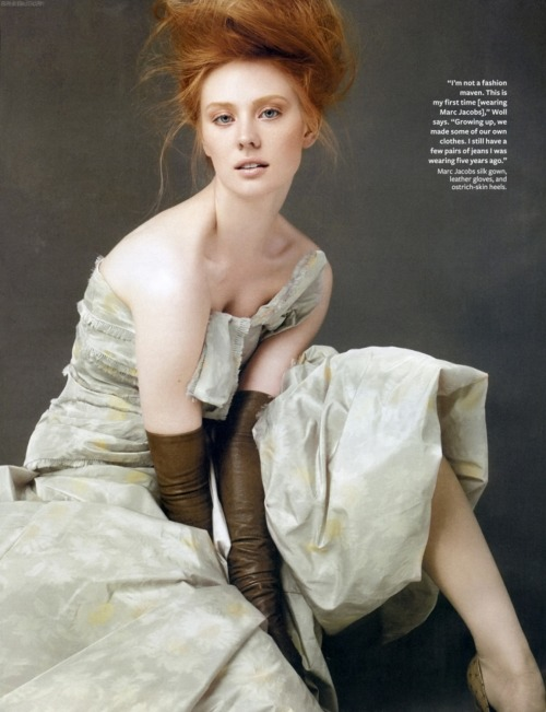Deborah Ann Woll: InStyle August 2010   god she's so damn beautiful! fackin' gorgeous!! <3333 mmm