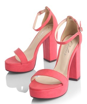Frolicking in the Bahamas - Red P1,450  Heel height: 10cm Platform height: 2cm Colors: black, red, white, orange, turquoise Closure way: word-style buckle Size: 35 to 39 Upper material: artificial leather/ PU Feature of leather: soft leather Sole material: rubber  View sizing guide here Order now