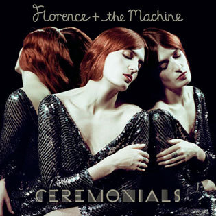 Florence + the Machine: new album cover Still wishing I were a redhead.
