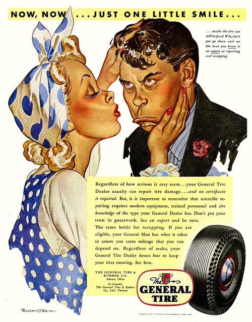 retrogoddess:  The General Tire