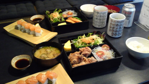 Japanese Lunch at Blue Light Yokohama (in Stockholm)