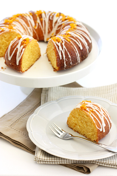 fattiesdelight:  Sicilian Orange Cake