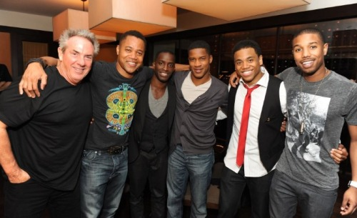 Rick McCallum (Producer), Cuba Gooding Jr., Elijah  Kelley, Nate Parker,  Tristan Wilds, Michael B. Jordan