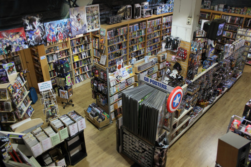 herochan:  Nostalgia & Comics in Birmingham, England (map) Image by Jason Dewey