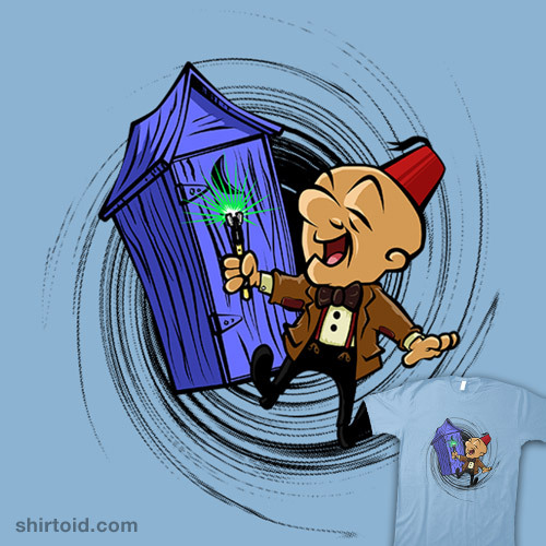 shirtoid:  Dr MagWho available at RedBubble