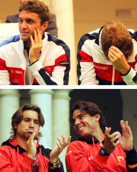 Same draw. Different reactions.